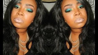 Teal & Brown Feat. Makeup Geek & Morphe Eye shadows Thumbnail