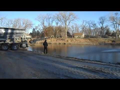 Lake Rehab: AquaBlok Slinger Application through Standing Water (Nebraska)