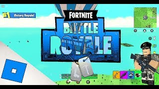Playing Fortnite in Roblox(crazy must watch)TCS