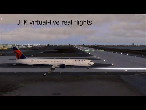 JFK *** Live *** JFK *** Virtual Airport |