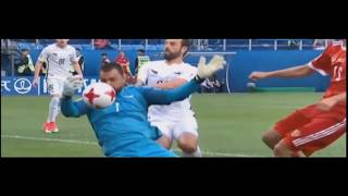 Stefan Marinovic - Best Saves - Confederations Cup Russia 2017