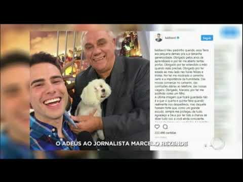 Amigos famosos lamentam o vazio deixado por Marcelo Rezende