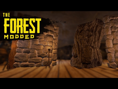 MY BASE IS RUINED! The Forest Modded S2 Episode 14