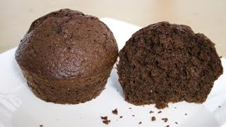 soft moist chocolate cupcake--Cooking A Dream