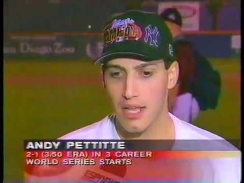 ESPN SportsCenter 1998-10-21 (Yankees Win 1998 World Series)