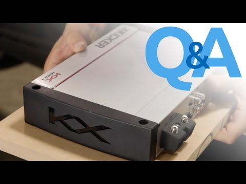 What Is The Best Way To Mount A Car Amplifier Under The Front Seat? | Car Audio Q&A