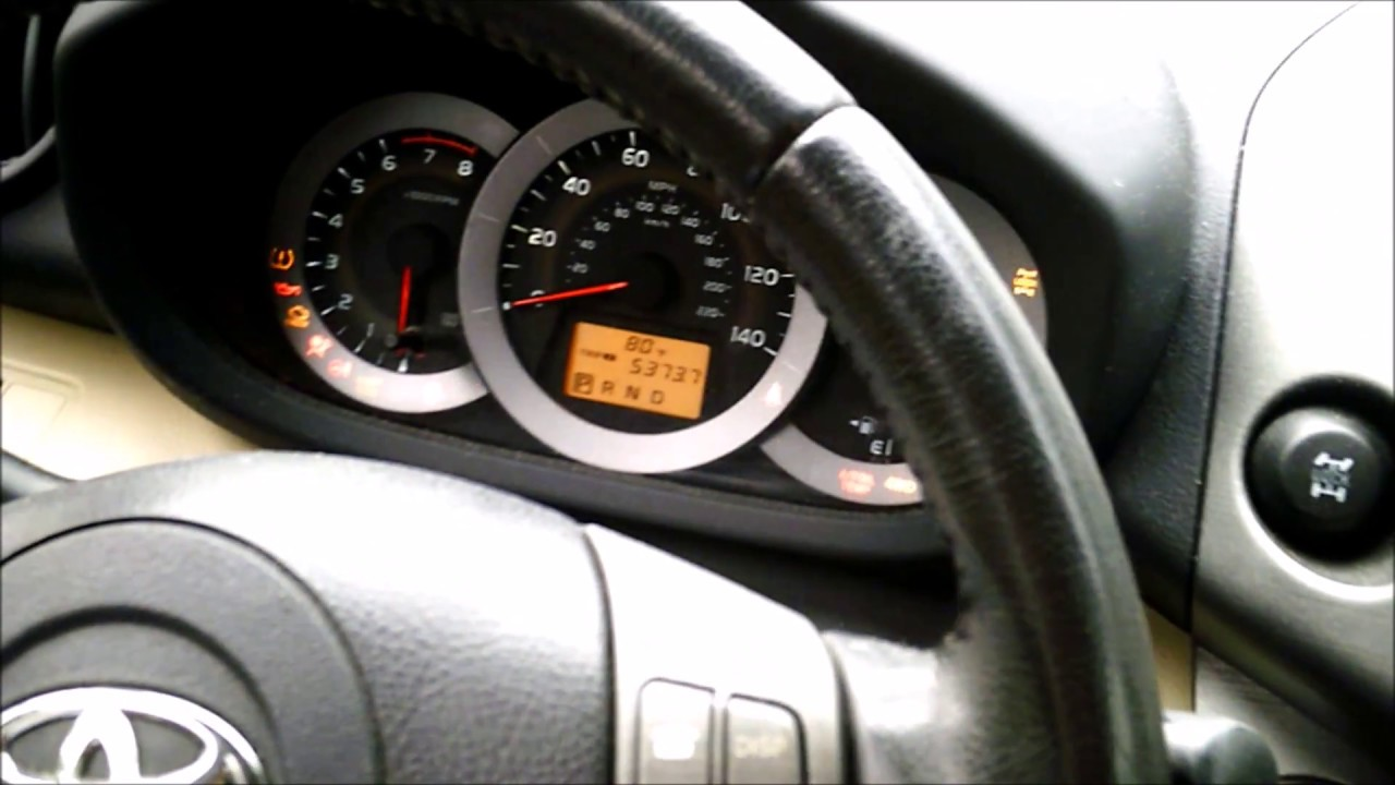 How To Reset Maint Reqd Light On 2010 Toyota Rav4