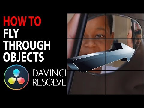 HOW TO: Fly through Objects in Videos | Davinci Resolve 15 & 14