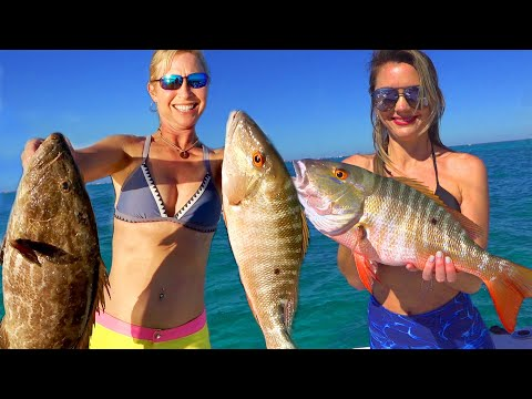 Marathon Patch Reef Grouper Catch And Cook