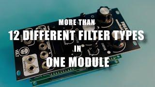 Freak from Vult - Manifold filter for Eurorack