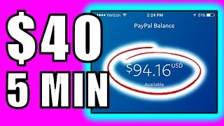 Earn $20-$40 Per 5 Min?!! - This is CRAZY!