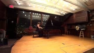 Download Inna Faliks plays Brahms piano Sonata # 2 at Bargemusic MP3 song and Music Video