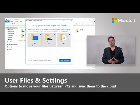 User Files and Settings - Step 4 in Desktop Deployment