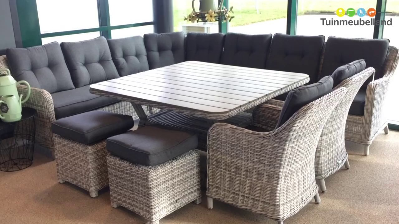 nova lounge dining set merk garden impressions youtube. Black Bedroom Furniture Sets. Home Design Ideas