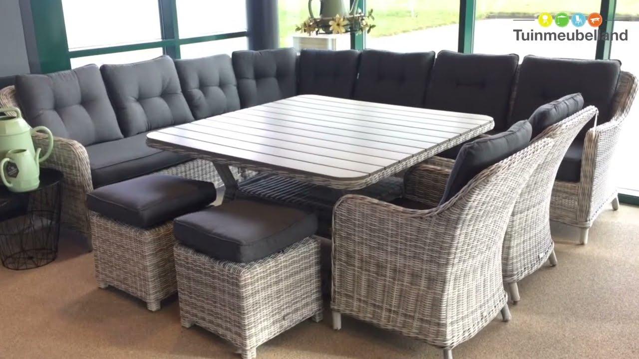 Nova lounge dining set - Merk Garden Impressions - YouTube