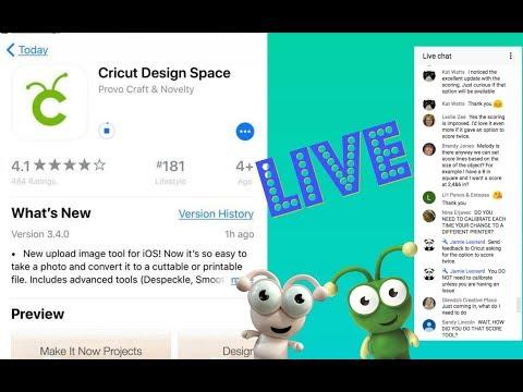 Uploading Images in the Cricut Design Space ios App
