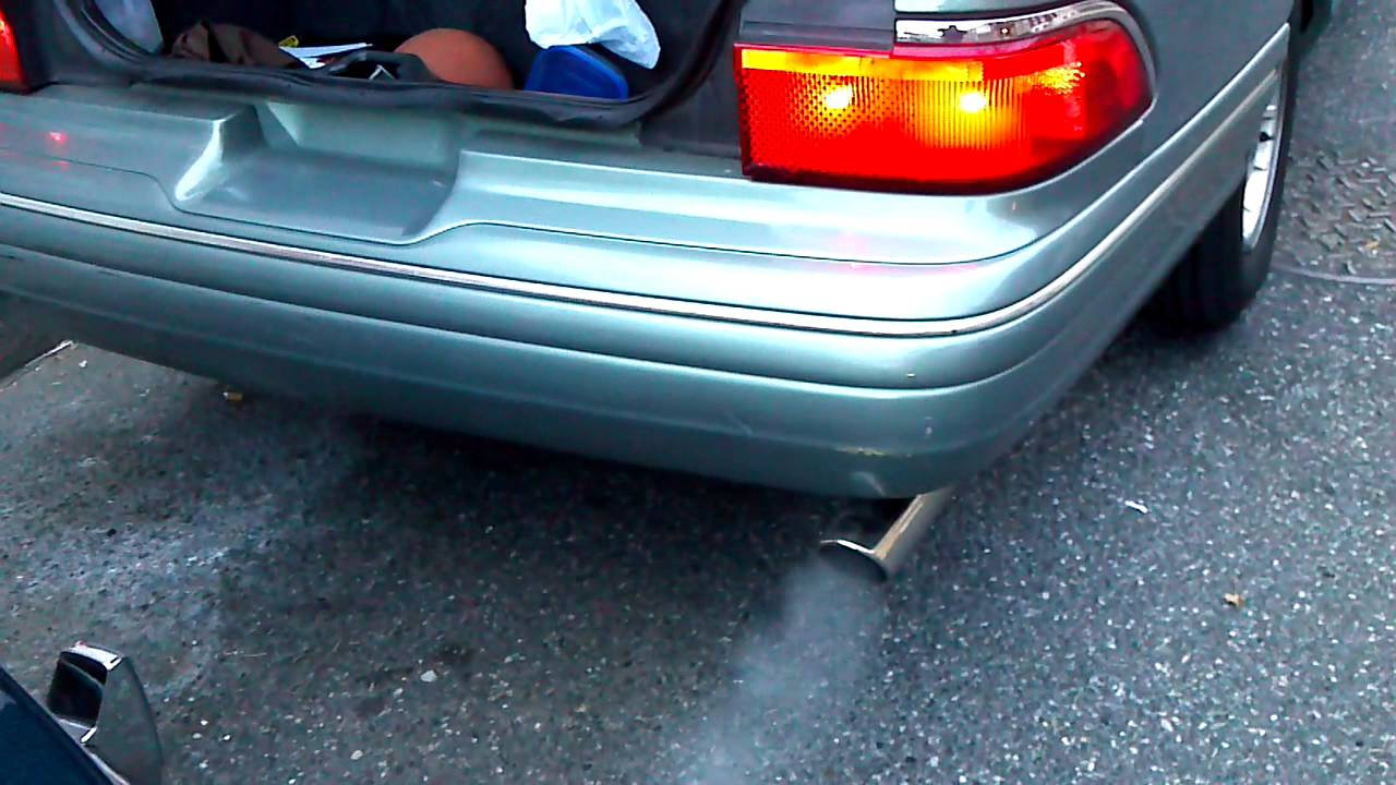 1997 grand marquis with 40 series flowmaster