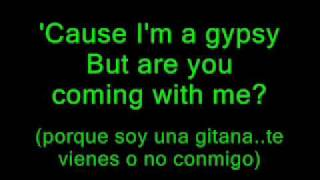 gypsy - shakira ** with lyrics** English and spanish too