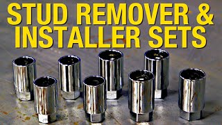 How to Easily Remove & Install Studs - Stud Remover & Installer Kit From Eastwood