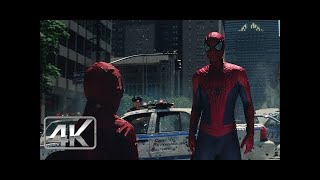 Spider-Man Vs Rhino FINAL Amazing Spider-Man 2 LATINO (Ultra-HD)