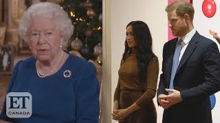 Download Queen Talks Harry and Meghan Exit Mp3 and Videos