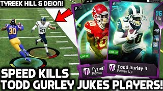 TODD GURLEY JUKES PLAYERS! TYREEK HILL & DEION SANDERS! Madden 19 Ultimate Team