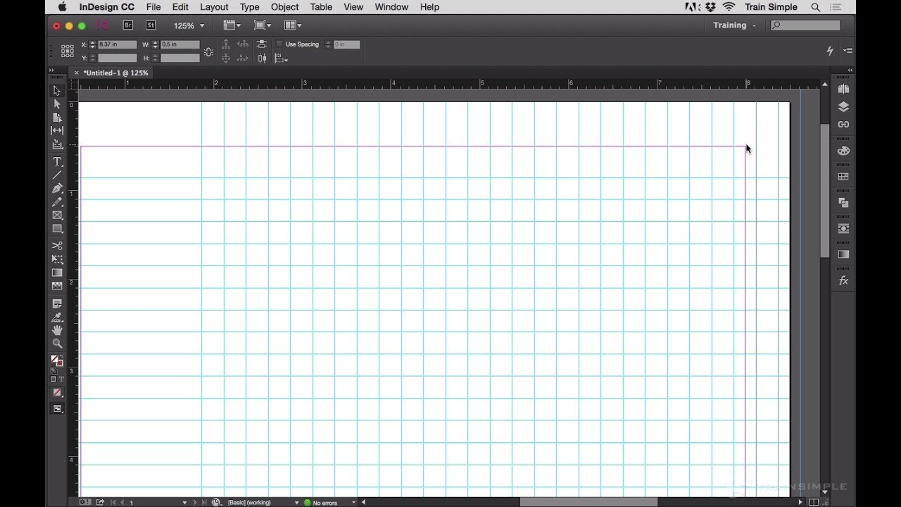 Stepping and Repeating Ruler Guides to Quickly Create Grids - InDesign Tip  of the Week
