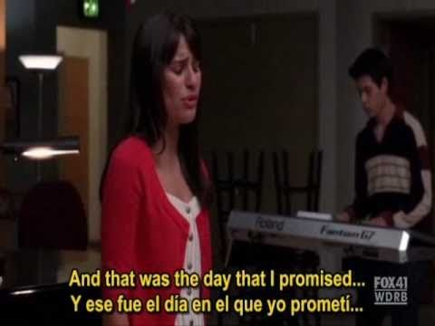 Glee - The Only Exception (Paramore) (FULL SCENE HD - Subtitulado)