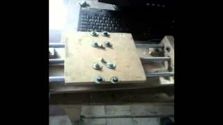 Z axis of cnc router machine controlled by joystick