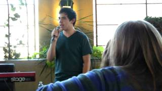 "David Archuleta ""Let's get crackin'"" Things Are Gonna Get Better-Patio Party UT"