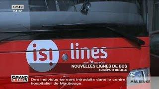 Isilines : De nouvelles lignes de bus à Lille