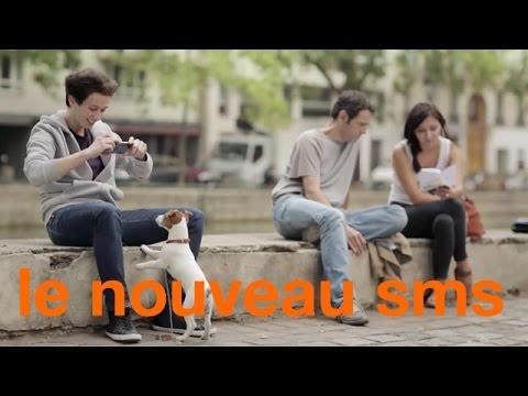 Vidéo Le nouveau SMS : envoyez tous vos fichiers - Orange