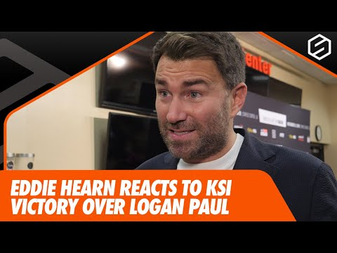 KSI 'was f***** after two rounds' - Eddie Hearn reacts to KSI's victory over Logan Paul