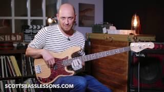 Deeper Underground - Jamiroquai - Bass Line Analysis /// Scott's Bass Lessons