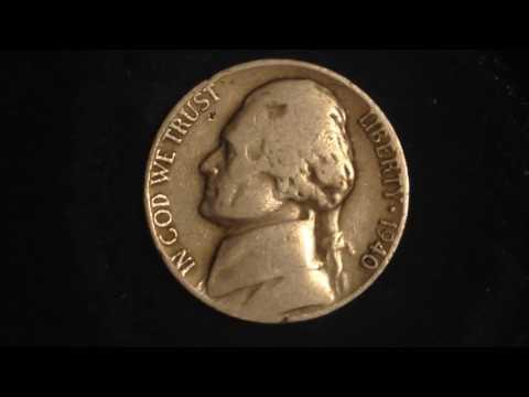 1940 D Jefferson Nickel Mintage 43 million. Value starting at 45 cents