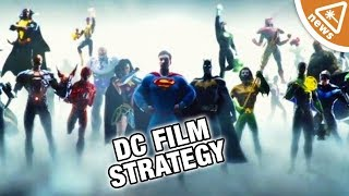 Warner Bros Strategy for the DC Film Universe Revealed! (Nerdist News w/ Jessica Chobot)