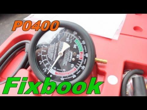 P0400 Diagnostic Code Finding EGR Vacuum Leak - YouTube