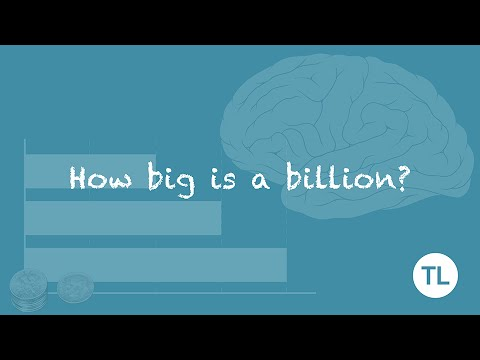 How big is a billion? (No, it's bigger than that!) - YouTube
