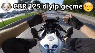 Cıbır 125r ile Gazladık Teker yaptık Bisiklet sürdük - MotoVlog#63