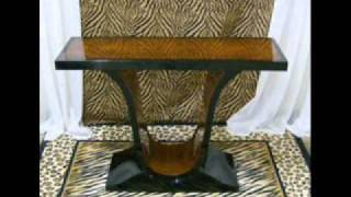 Interior Design Of Art Deco Style Mirrored Console Tables Austin,dallas Texas