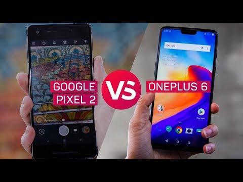 Pixel 2 vs. OnePlus 6