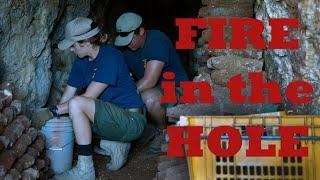 Fire in the Hole: Navy EOD  Detonates WW II Japanese Ordnance