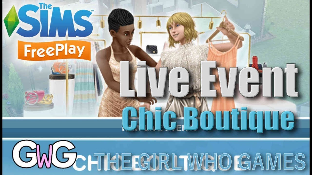 The Sims Freeplay- Chic Boutique Live Event
