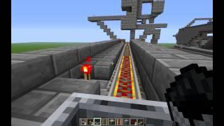 Let's Erklär Minecraft Bahnhof Vollautomatisch u. Minecart Chest System Tutorial [German|HD]