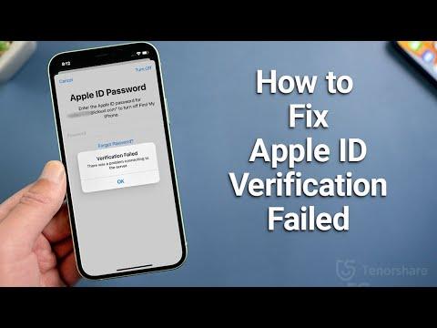 Apple ID Verification Failed? 6 Ways to Fix It!