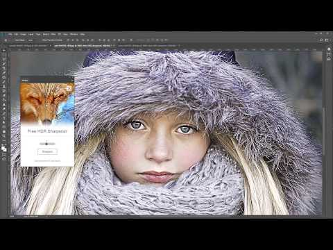 Free HDR Sharpener Plugin For Photoshop