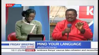 Mind your Language    Friday Briefing   Part 1