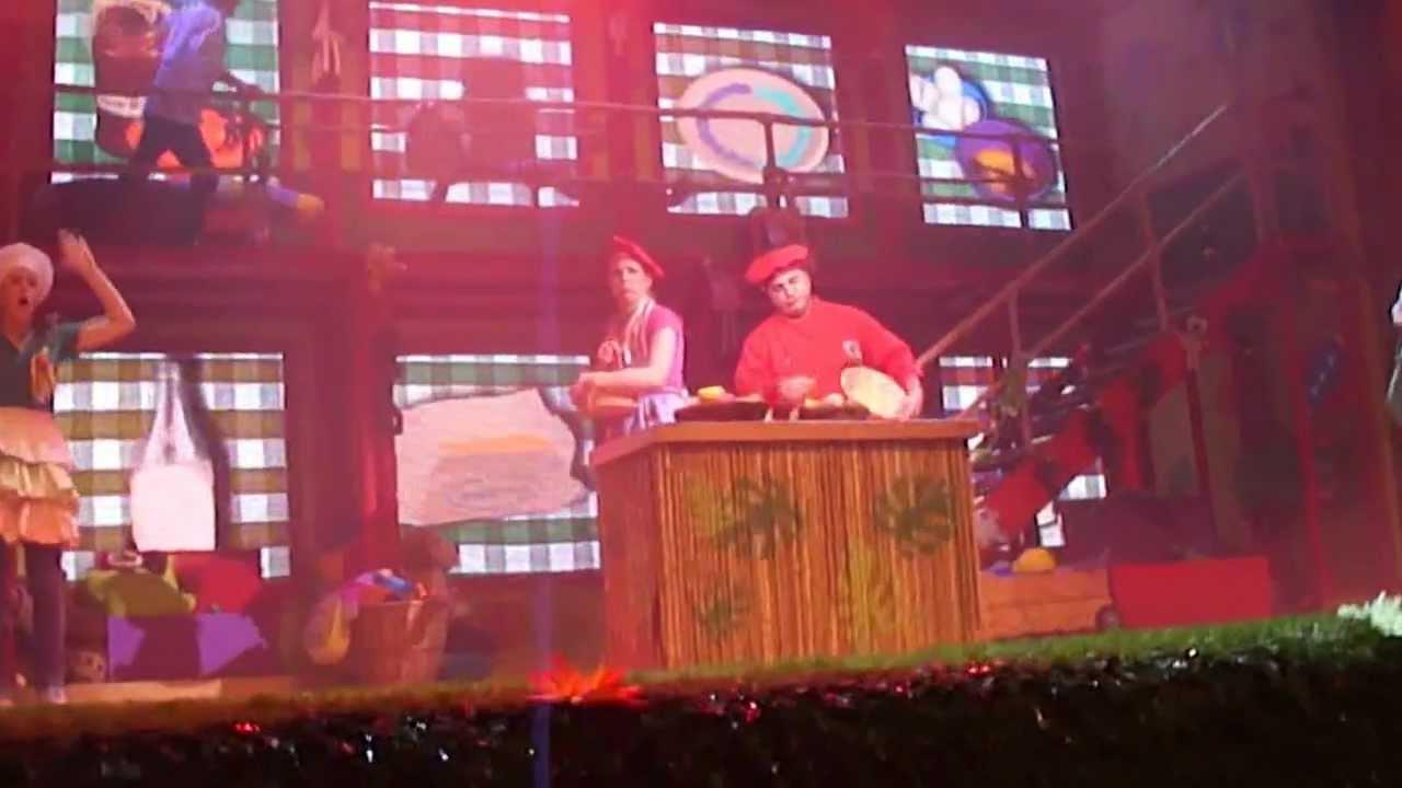 Topa y muni en el teatro boogie de la cocina en vivo for Teatro la cocina