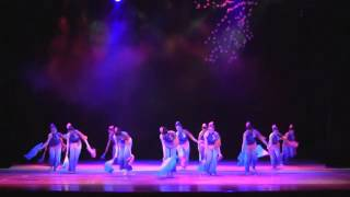 胶州秧歌表演组合《桃花红杏花白》