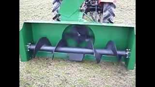 Pług wirnikowy do ciągnika rolniczego